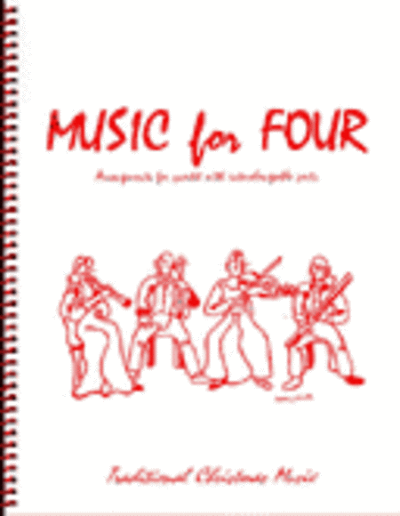Music for Four, Christmas, Set of 5 Parts (Piano Quintet - String Quartet plus Piano))