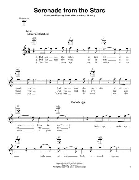 Serenade From The Stars