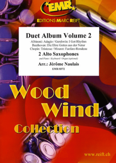 Duet Album Volume 2  (alto sax)