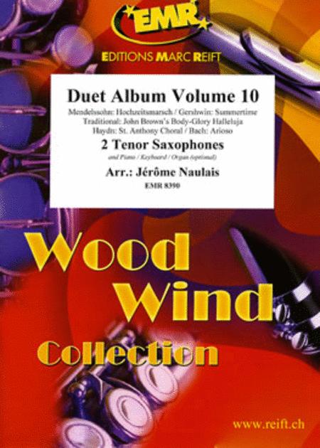 Duet Album Volume 10  (tenor sax)