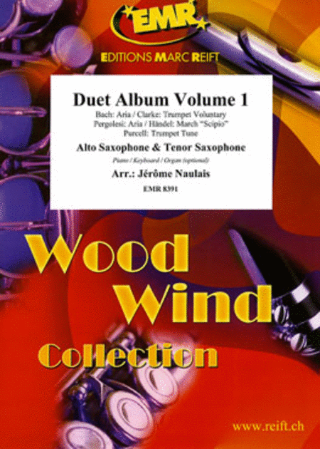 Duet Album Volume 1  (mixed saxes)