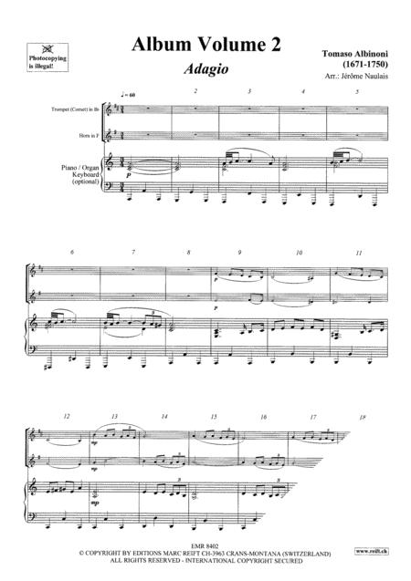 Duet Album Volume 2  (trumpet, horn)