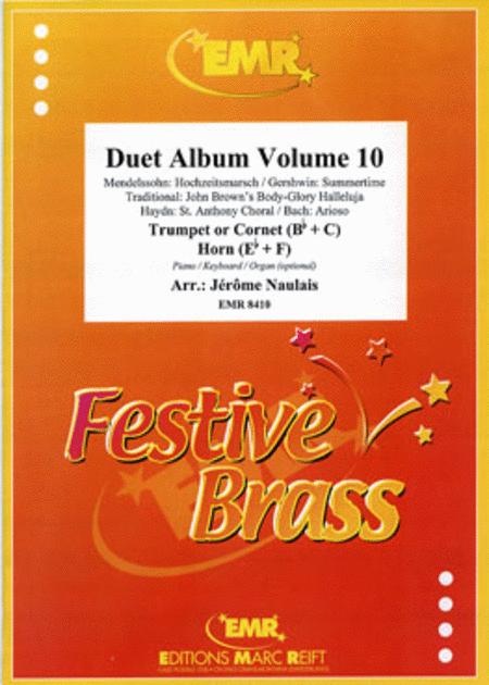 Duet Album Volume 10  (trumpet, horn)