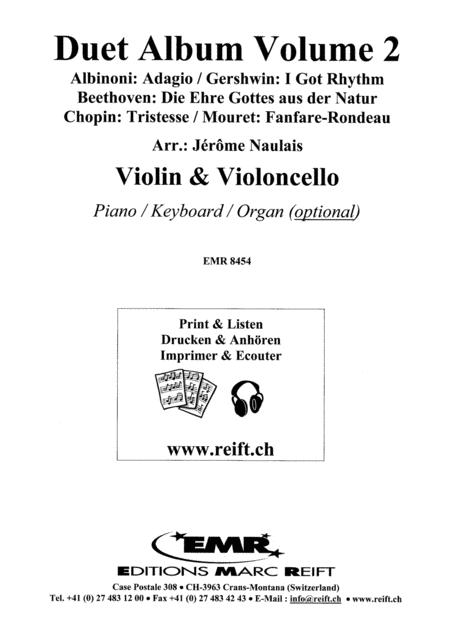 Duet Album Volume 2  (violin, cello)