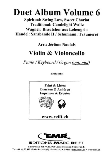 Duet Album Volume 6  (violin, cello)