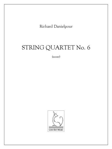 String Quartet No. 6 (score and parts)