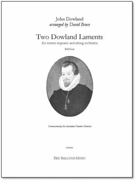Two Dowland Laments (score and parts)