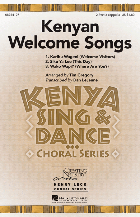 Kenyan Welcome Songs