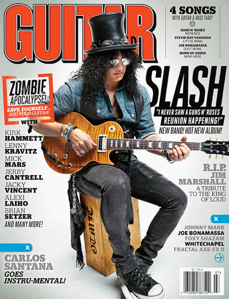 Guitar World Magazine - July 2012
