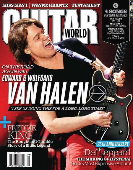 Guitar World Magazine - August 2012