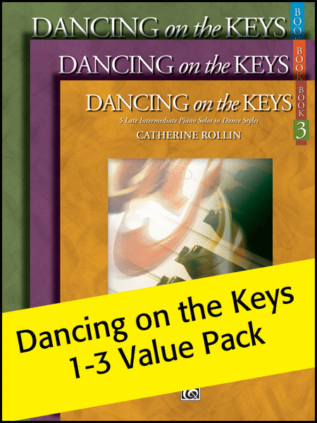 Dancing on the Keys Books 1-3 2012 (Value Pack)