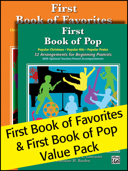 Alfred's First Book of Pop and Favorites 2012 (Value Pack)