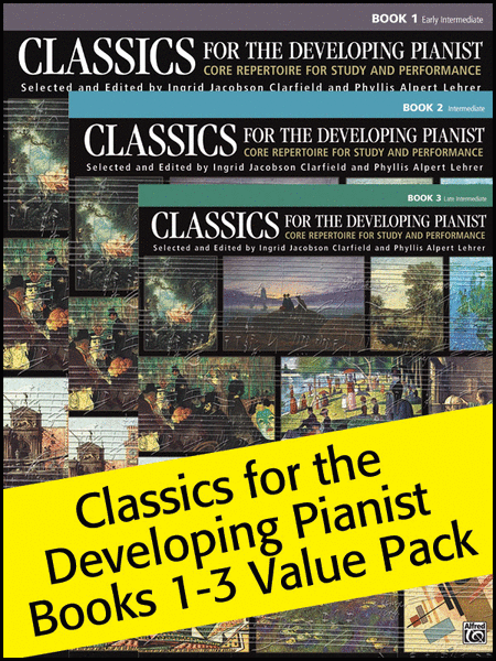 Classics for the Developing Pianist Books 1-3 (Value Pack)