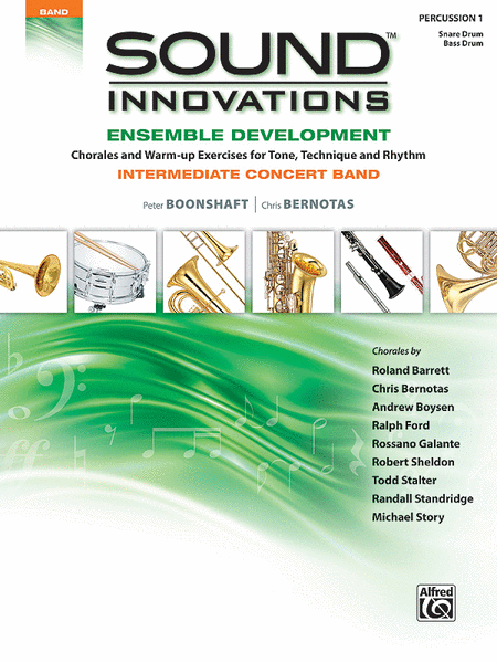 Sound Innovations for Concert Band -- Ensemble Development for Intermediate Concert Band