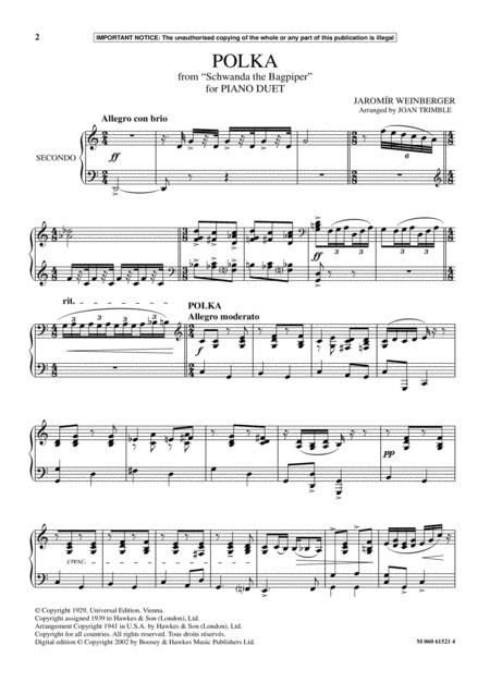 Polka (from Schwanda The Bagpiper)