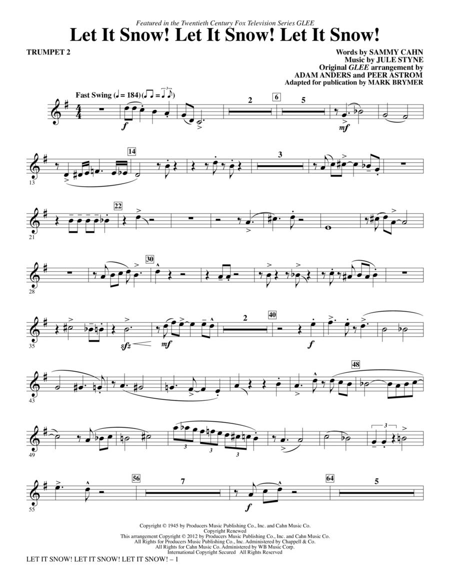Let It Snow! Let It Snow! Let It Snow! - Trumpet 2
