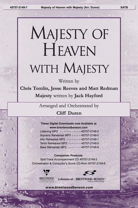 Majesty Of Heaven With Majesty (Anthem)