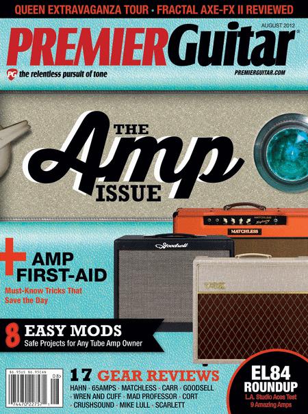 Premier Guitar Magazine - August 2012