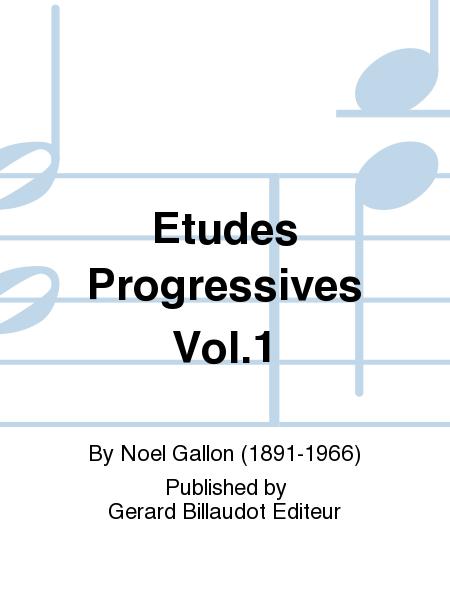 Etudes Progressives Vol.1