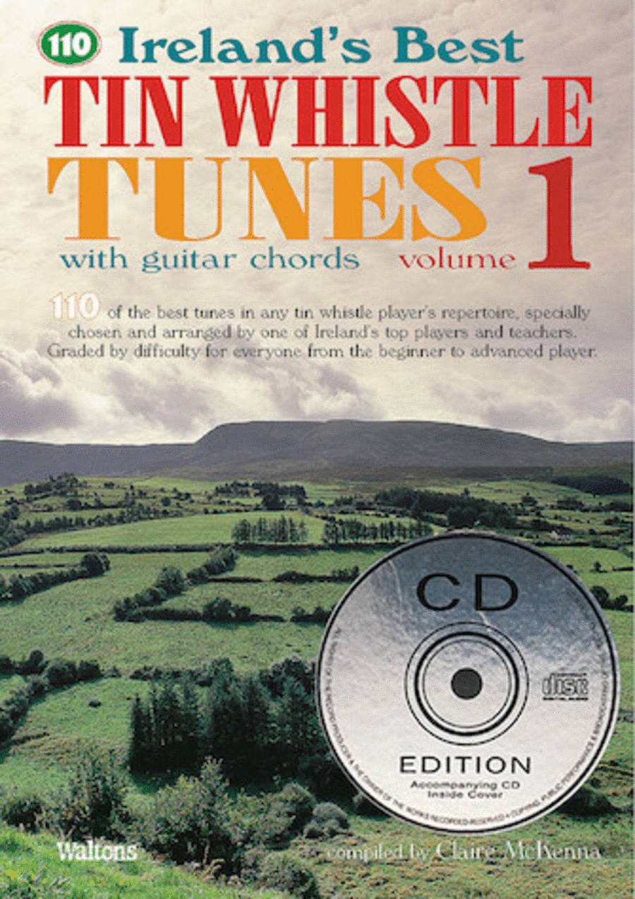 110 Ireland's Best Tin Whistle Tunes - Volume 1