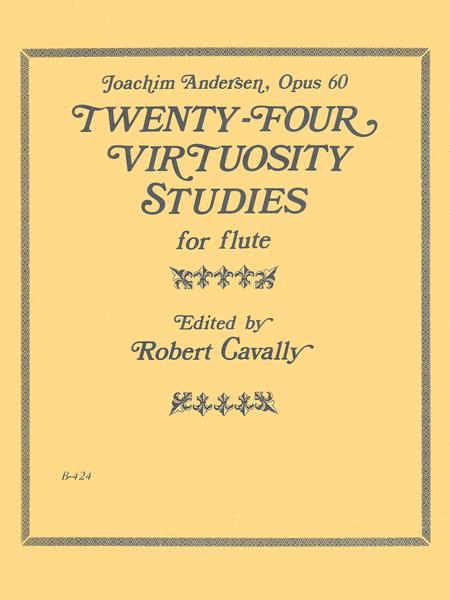 24 Virtuosity Studies for Flute, Op. 60