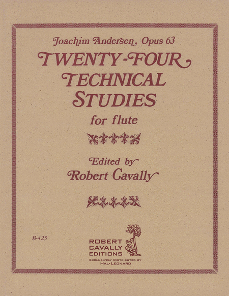 24 Technical Studies for Flute, Op. 63