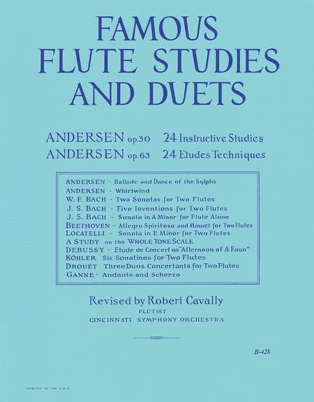 Famous Flute Studies and Duets