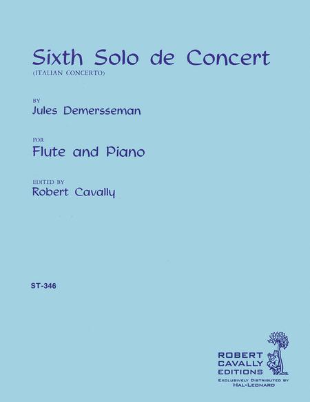 Sixth Solo de Concert (Italian Concerto)