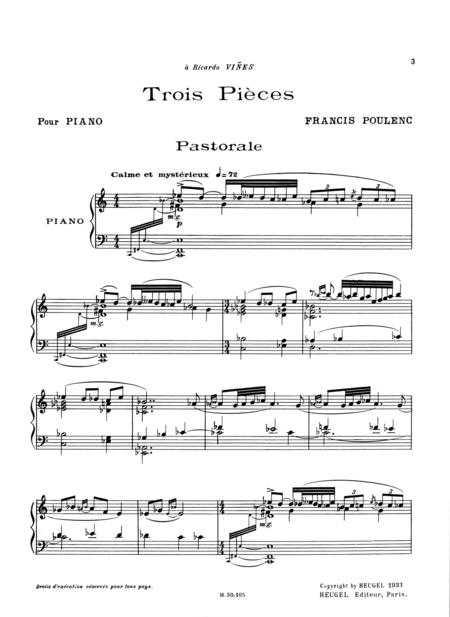 3 Pieces - Piano