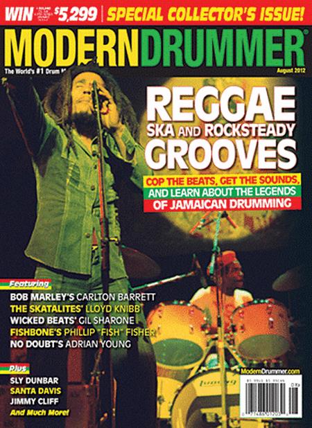 Modern Drummer Magazine - August 2012 Issue