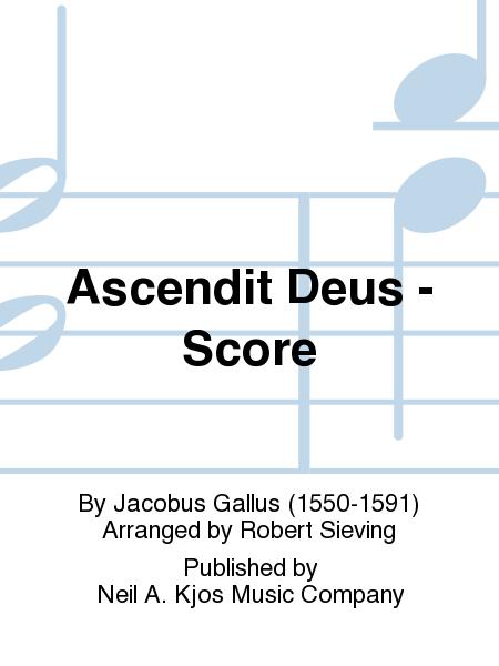 Ascendit Deus - Score