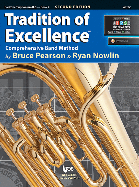 Tradition of Excellence Book 2 - Baritone/Euphonium B.C.