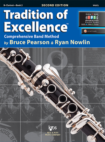 Tradition of Excellence Book 2 - Bb Clarinet
