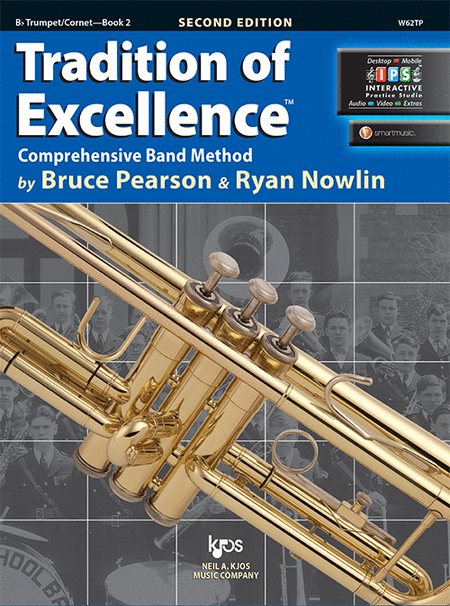 Tradition of Excellence Book 2 - Bb Trumpet/Cornet