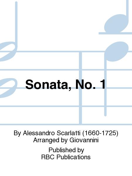 Sonata, No. 1