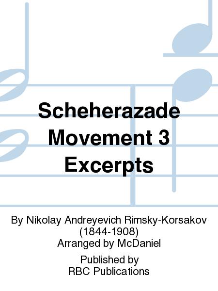 Scheherazade Movement 3 Excerpts