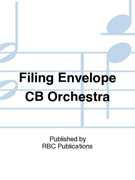 Filing Envelope CB Orchestra