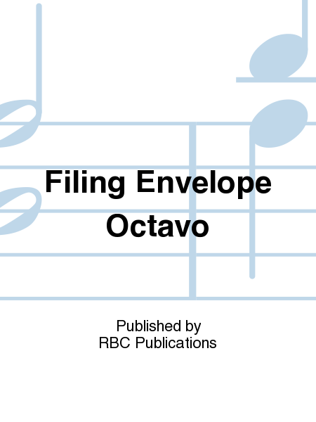 Filing Envelope Octavo