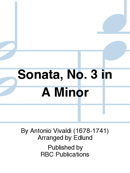 Sonata, No. 3 in A Minor