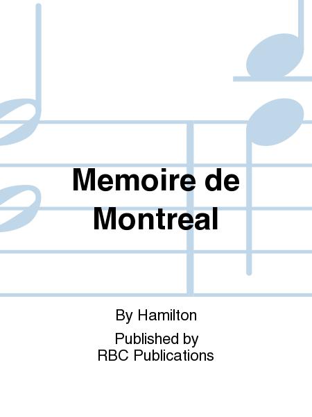 Memoire de Montreal