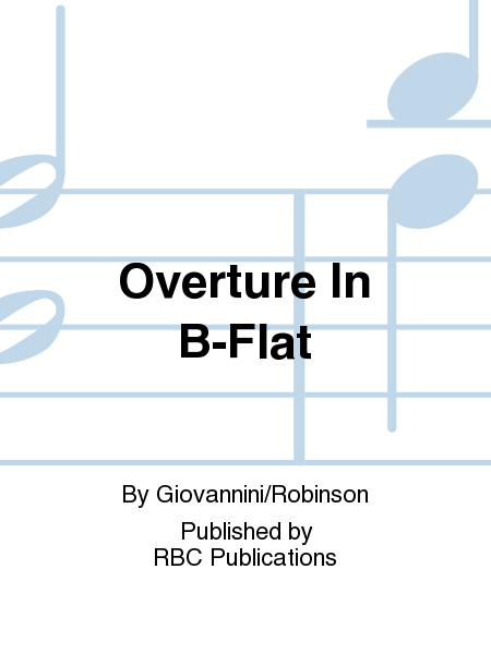 Overture In B-Flat