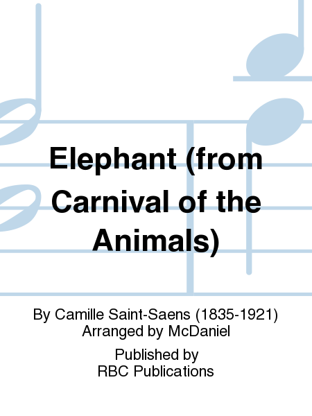 L Elephant Carnival Of The Animals Elephant (from ...