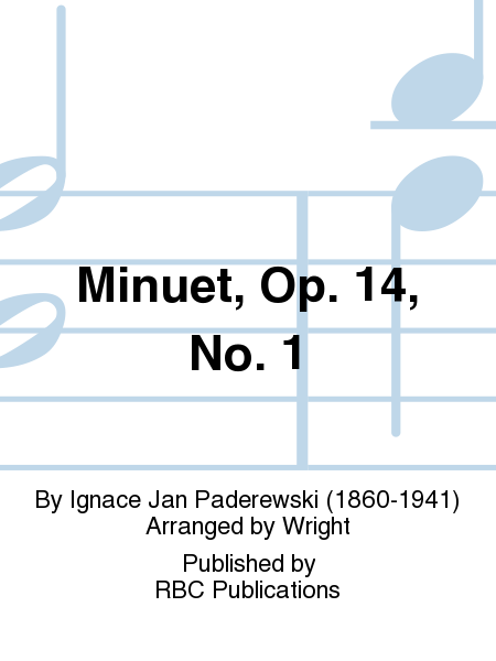 Minuet, Op. 14, No. 1