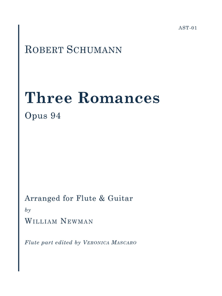 Three Romances, Op. 94