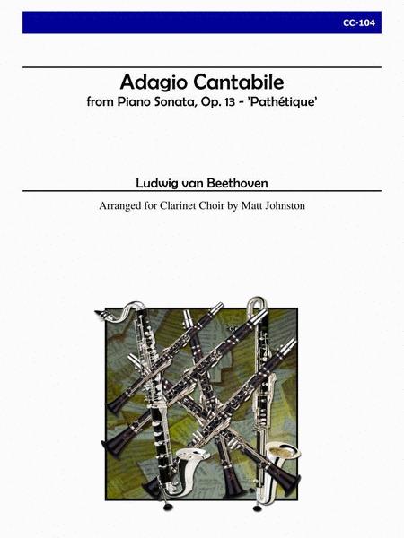 Adagio Cantabile from 'Sonata Pathetique' (Clarinet Choir)