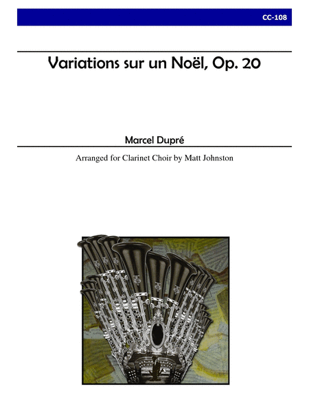 Variations sur un Noel, Op. 20