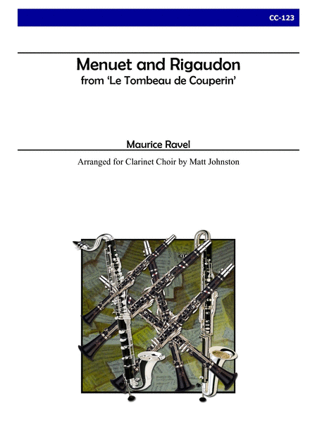 Menuet and Rigaudon from 'Le Tombeau de Couperin'
