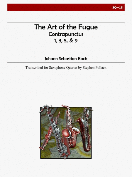 The Art of the Fugue (Contrapunctus 1,3,5,9)