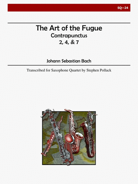 The Art of the Fugue (Contrapunctus 2,4,7)
