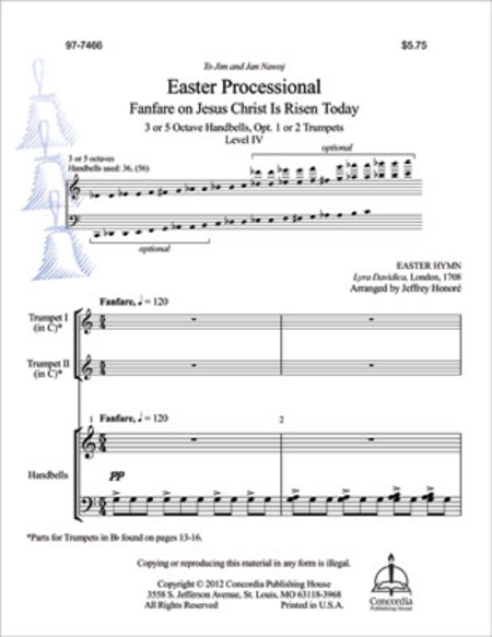 Easter Processional: Fanfare on Jesus Christ Is Risen Today